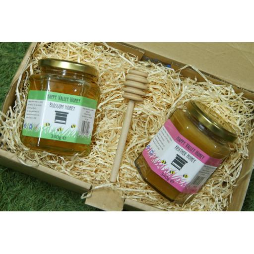 Twin Honey Gift Box