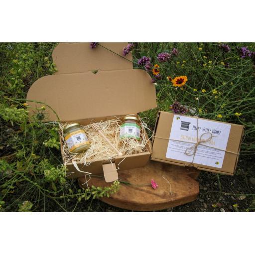 Twin Honey Gift Box